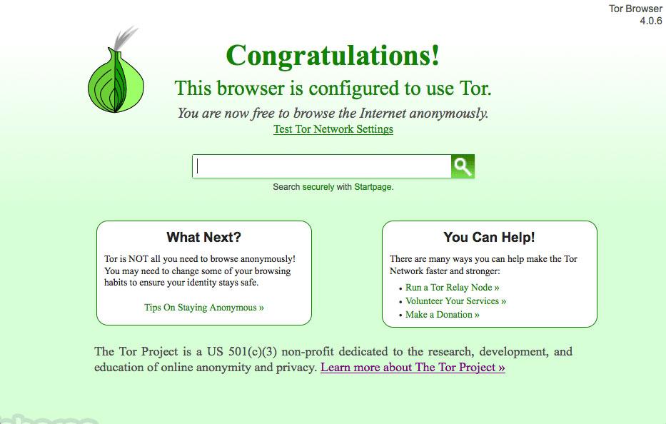 installazione tor browser